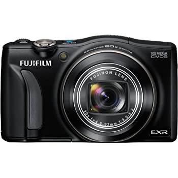 Fujifilm FinePix F770EXR 16 MP Digital Camera with 20x Optical Zoom (Black)
