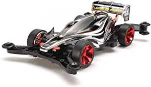 Tamiya Special Mini 4WD (Ms Chassis) Black Metallic Aero Avante on Planning Instruments 95269