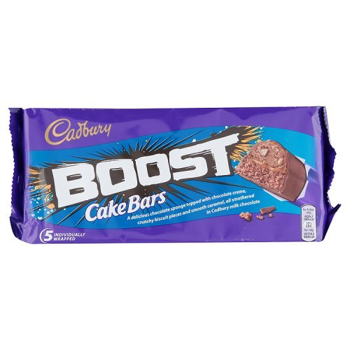 Boost Cake Bars 5x33g Amazoncouk Grocery
