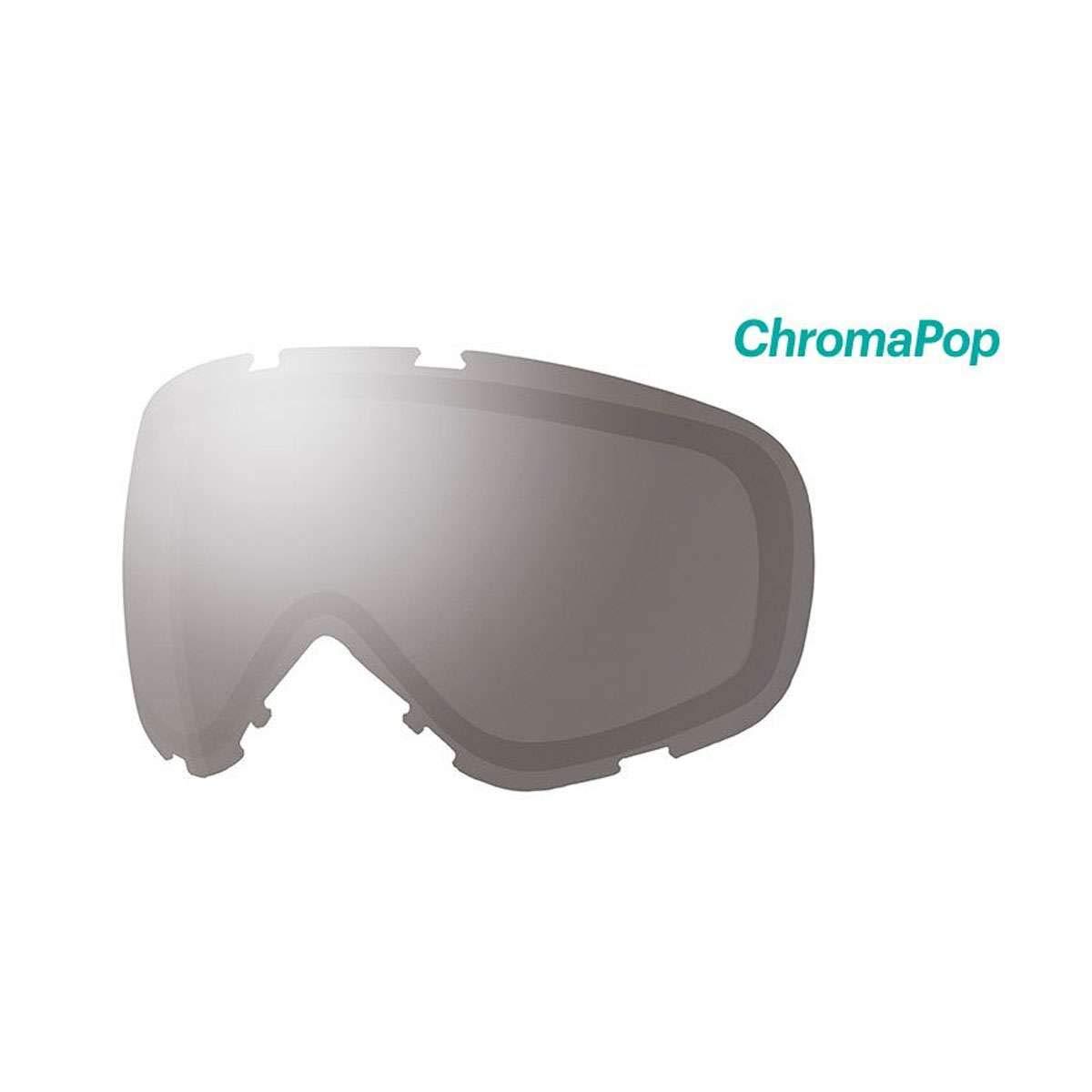 5b43c5b455 Amazon.com   Smith Optics Phenom Turbo Adult Replacement Lense Snow Goggles  Accessories - Chromapop Everyday Green Mirror One Size   Sports   Outdoors