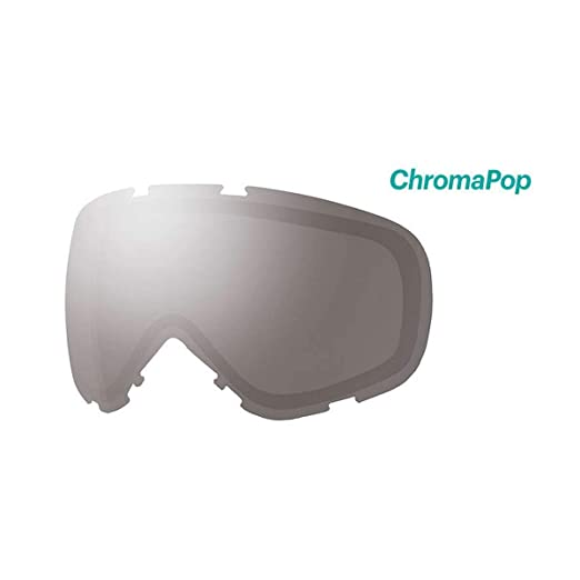 ae8cccb209d Amazon.com   Smith Optics Phenom Turbo Adult Replacement Lense Snow Goggles  Accessories - Chromapop Everyday Green Mirror One Size   Sports   Outdoors