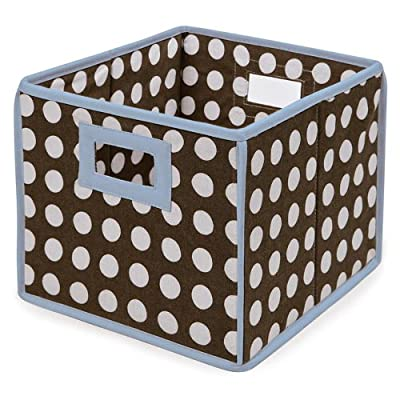 Badger Basket Folding Nursery Basket/Storage Cube