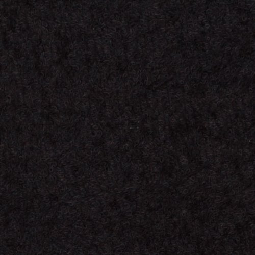 Richland Textiles Terry Cloth Black Fabric The Yard Unknown