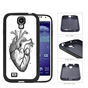 Anatomy Of Heart Diagram Rubber Silicone TPU Cell Phone Case Samsung Galaxy S4 SIV I9500