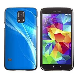 X-ray Impreso colorido protector duro espalda Funda piel de Shell para SAMSUNG Galaxy S5 V / i9600 / SM-G900F / SM-G900M / SM-G900A / SM-G900T / SM-G900W8 - Shiny Bright White Sea Sky