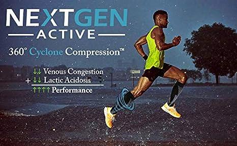 Amazon.com: NextGen Active Premium Compression Socks 20-30 mmHg (3-Pack) For Men & Women: Clothing