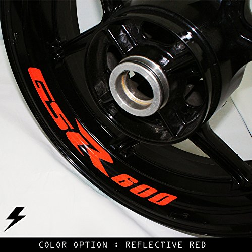 Suzuki GSR 600 Motorcycle Inner Rim Sticker Stripe RB