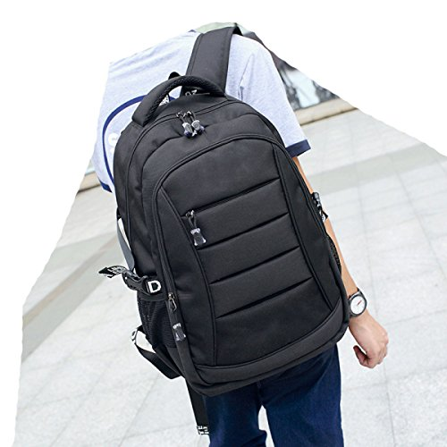 Laidaye Shoulder Large Multi Backpack Business Blue Capacity Oxford Leisure Travel purpose 4rT64q