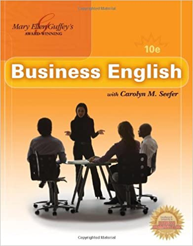 Business English (with MEGUFFEY.COM Printed Access Card) by Mary Ellen Guffey (2010-02-02)