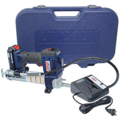 リンカーン1882 20 V Li - IonバッテリユニットPowerLuber 1 with充電器、携帯ケース B00KNC4XJE