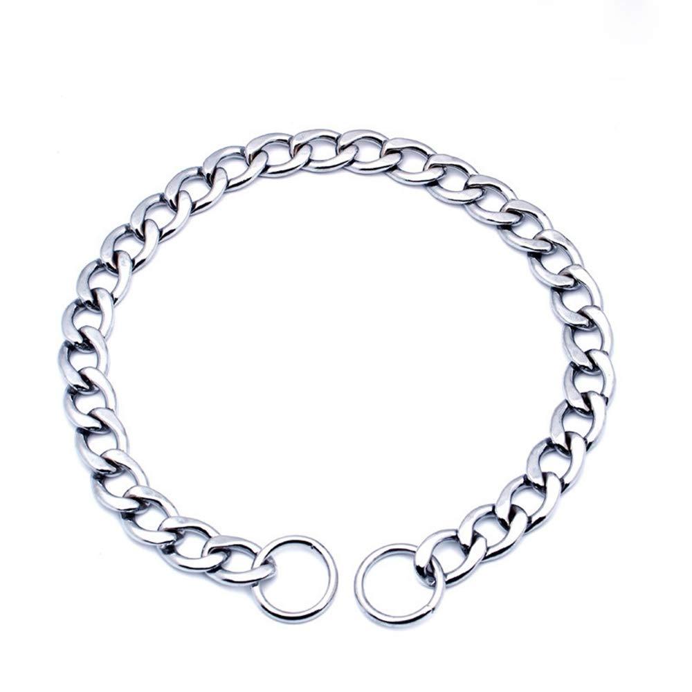 Tama/ño L Louvra Collar de Perro Arn/és de Perro Durable SBR Acolchado del Material Nailon Color Gris 3M Reflecante