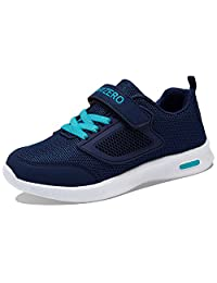 PENGCHENG Kids Running Tennis Shoes for Boys Girls Lightweight Fashion Sneakers Breathable Casual Walking Shoe (Little Kid/Big Kid)