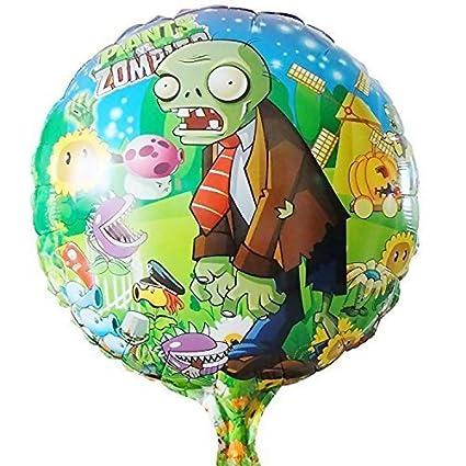 Amazon Com 10pcs Lot Plants Vs Zombies Balloon Birthday Party