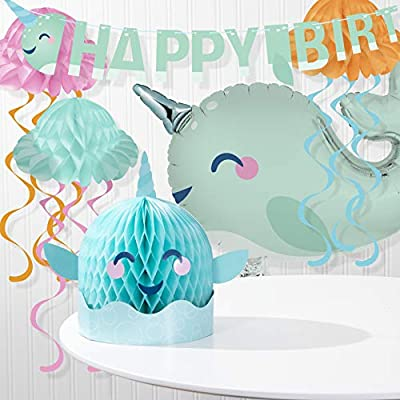 Narwhal Party Decorations Kit: Toys & Games