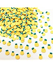20g/lot 5mm Pineapple Polymer Clay Slices for DIY Crafts Plastic Klei Mud Particles Fruit Clays