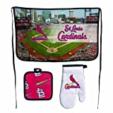MLB St. Louis Cardinals Premium Barbeque Tailgate Set