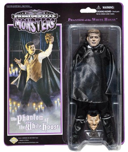 Jfk Costumes (Phantom of the White House - Presidential Monsters - JFK as the Phantom of the Opera - 8 1/4