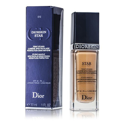 Christian Dior Skin Star Studio Spectacular Brightening Perfection SPF 30 Makeup, No. (Christian Dior Ivory Foundation)