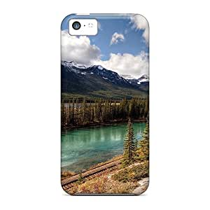 Premium Protection Mountain Scenery Case Cover For Iphone 5c- Retail Packaging