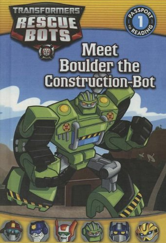 Meet Boulder the Construction-Bot Transformers: Rescue Bots ...