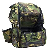 Latitude 64 DG Luxury E3 Backpack Disc Golf Bag Army Camo & Black