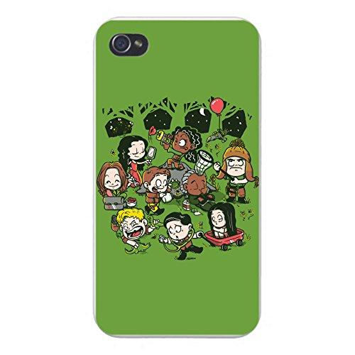 "Apple iPhone Custom Case 5 / 5S White Plastic Snap On - ""Fireflys"" TV Show Parody by Hat Shark"