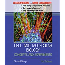 Cell and Molecular Biology 7e Binder Ready Version + WileyPLUS Registration Card