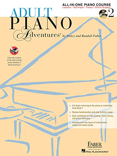Swan Lake Piano Music - Adult Piano Adventures All-in-One Lesson Book 2: Book with CD, DVD and Online Support