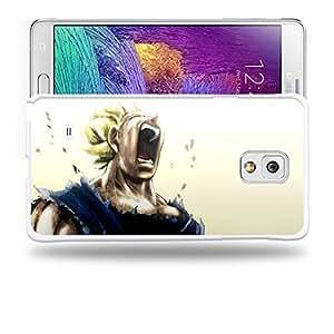 Case88 Designs Dragon Ball Z GT AF Son Goku Super Saiyan Super Saiyan Vegeta Protective Snap-on Hard Back Case Cover for Samsung Galaxy Note 4
