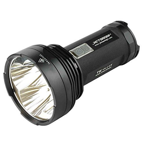 JETBeam 4016677 Outdoor Searchlight 4350 Lumens, Black