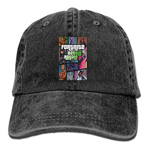 禁止するに負ける凝縮するカウボーイハット Cap アダルト男と女 野球帽 3 Dプリント フォートナイト Fortnite キャップ