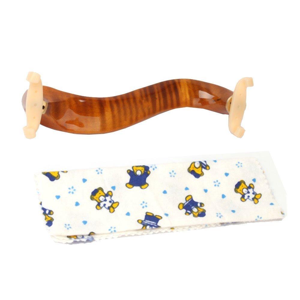 New Deluxe Maple Wood Violin Shoulder Rest 1/2 Size