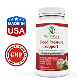Advanced Blood Pressure Support Supplement Formula with Hawthorne, Garlic Powder and other Top Quality Ingredients that help Widen Blood Vessels and help Support Blood Pressure Levels - 90 Caps