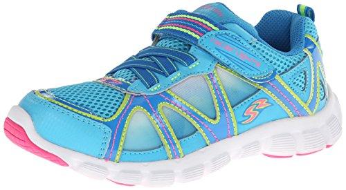 Stride Rite Racer Light-Up Starpower Running Shoe (Toddler/Little Kid),Blue,10 M US Toddler