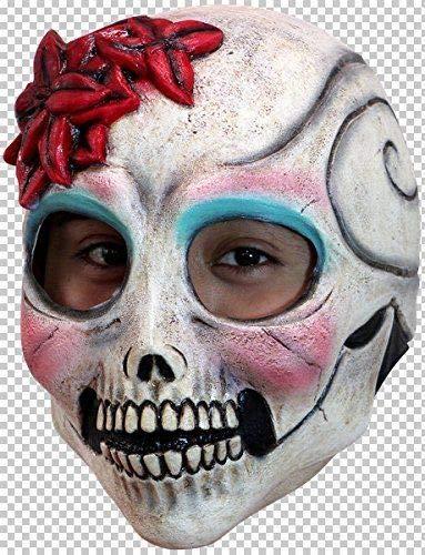 Gatton Ghoulish El Senorita Mexican Skull Mask -