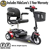 Pride Go-Go Elite Traveller 3-Wheel Scooter Including 5 Year Ext. Warr.