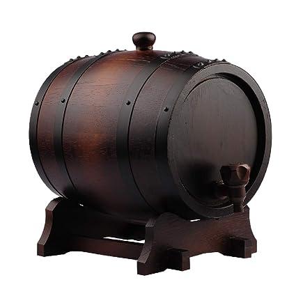 WYDM Barriles de Roble de 15 litros, recipientes de ...