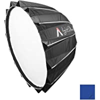 "Aputure Light Dome II (34.8"") Studio Multi-purpose Parabolic Reflector Softbox Bowens Mount for Aputure LS COB 120T/ 120D/ 120D II/ 300D LED Video Light + Oneshot Cleaning Cloth"