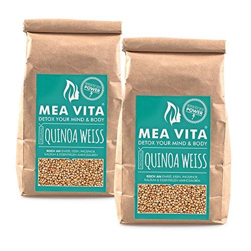 MeaVita Premium Quinoa Samen, 2er Pack (2 x 1000g)