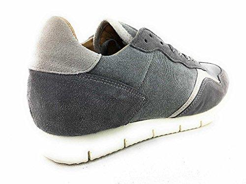 nobrand 13378 - Zapatos de cordones para hombre gris