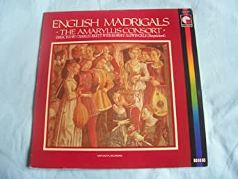 CIMP 873 AMARYLLIS CONSORT English Madrigals LP