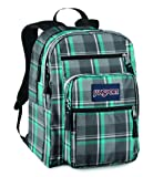 JanSport Classics Series Big Student Backpack (Blinded Blue/Grey Duke Plaid)