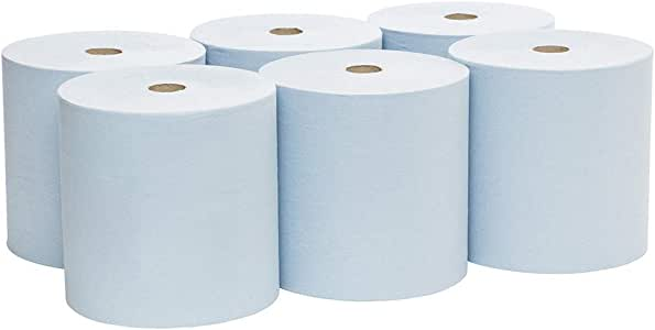 Scott 6668 Scott Blue Hand Towels, 304m/Roll, Case of 6 Rolls, Blue 11.300 kilograms