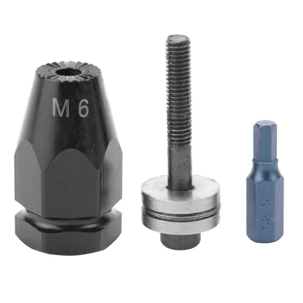 M5 M6 M8 M10 Matrice pneumatica tira-aghi rivetti dado testa dado per rivetti pneumatici con rivetto pistola Hex straight handle M6