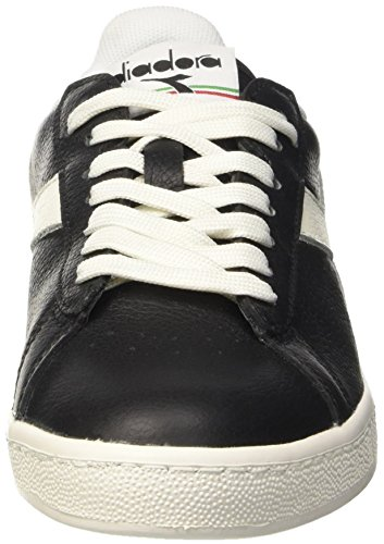 Unisex – nero Diadora Low L nero Nero bianco Waxed Scarpe Game Adulto Top naSgqwOC