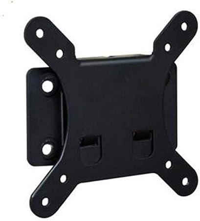 GLJJQMY Soporte para televisor Soporte de pared para televisor pequeño de 10-26 pulgadas Soporte para televisor LCD Soporte para monitor de pared Soporte para pantalla de mini TV Soporte VESA máximo 1: