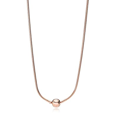 2edfdcee1 Amazon.com: Pandora Essence Collection Rose Necklace 38727745: Jewelry