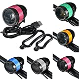 Bazaar T6 Zoomable Rechargeable Bicycle Light Bike Lamp Cycling Light 3 Mode USB