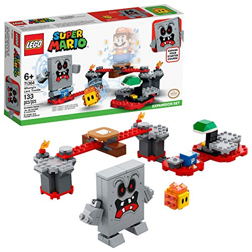 LEGO Super Mario Whomp's Lava Trouble Expansion Set 71364 Building Kit; Toy for Kids to Enhance Their Super Mario…