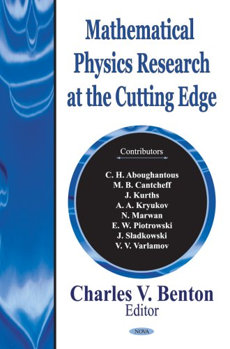 Mathematical Physics Research at the Cutting Edge PDF